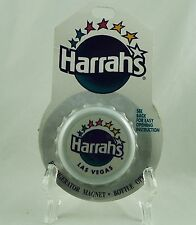 Vintage 1997 Harrah's Casino Bottle Cap Refrigerator Magnet Bottle Opener Mip
