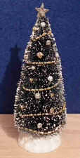 1/12 dolls house miniature Christmas HMade Tree & Decorations Xmas Decorated LGW
