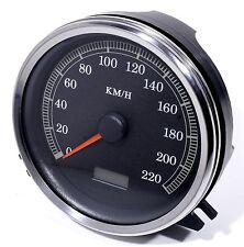 KM/H Tacómetro para Harley Davidson Softail Heritage GRASA CHICO Twin Cam Hd