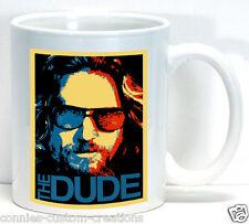 The Dude Coffee Cup Ceramic Mug The Big Lebowski Movie Fan Club Gift Bridges Art