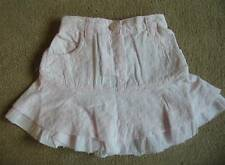 BNWT NEXT Girls Baby Pink Broderie Anglaise Skirt 12-18 Months