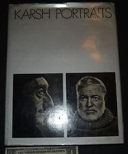 KARSH PORTRAITS Yousuf Karsh 48 gravure illsutrations