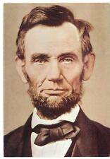 US 1900's PRESIDENT ABRAHAM LINCOLN ORIGINAL PHOTOGRAPH WHEN 50 YEARS OLD