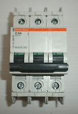 SCHNEIDER MERLIN GERIN 60174 MULTI9 C60 C 6A 240V 3-POLE CIRCUIT BREAKER