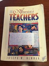 America's Teachers: An Introduction to Education (4th Edition)