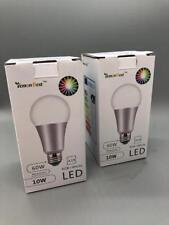 LemonBest RGBW Led Bulb B22 60W 10W A19 - RGB+White - Pack of 4