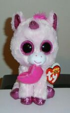 Ty Beanie Boos - DARLING the Valentine's Day Unicorn (6 Inch) 2020 NEW ~ IN HAND
