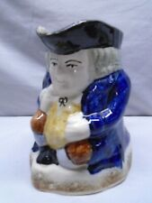 Early Staffordshire Sitting Toby Jug or Pitcher