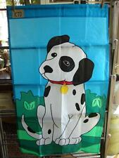 K77 Large Nylon Dalmation Dog Flag 27 X 45