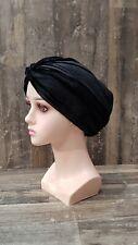 Turban Kopftuch Hijab Bone Khimar Chemomütze Kopfdeckung Stirnband Modern Samt