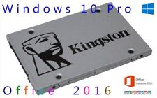 SSD 240gb windows office preinstalled (free optional!!)  UV400 kingston