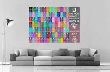 KEEP CALM AND CARRY ON FUN COMPILE Wall Art Poster Grand format A0