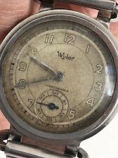Rare Vintage Wyler Military Style Watch Circa 1940