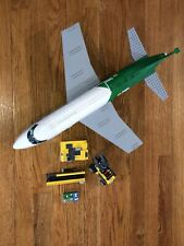 Lego 60022 City Cargo Terminal Set Plane w/ Airport Conveyor & Pieces Incomplete