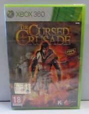 Gioco Game Consolle Microsoft XBOX 360 ITALIANO NUOVO NEW - THE CURSED CRUSADE -