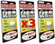 3x Highly Conductive Wire Glue / Paint for AC/DC - NO Soldering Iron - FREE POST