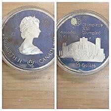 10 Dollars Canada Olympics Montreal 1976 Skyline Coin