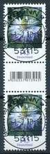 Bund Nr. 3351 gestempelt, Zwischenstegpaar EAN-Feld, Zählnummer 155 (69417)