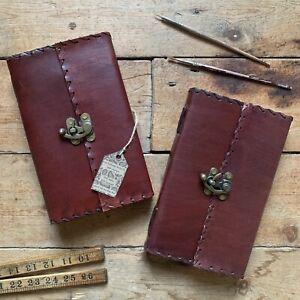 """9"""" Handmade Leather Vintage Journal Sketchbook Diary Scrapbook Handmade Paper"""