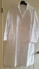 Mens White Lab Coat - Medical,Catering,Decorating - Faithful Branded