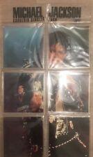 """MICHAEL JACKSON ~ Souvenir Singles Pack 5 x 7"""" SHAPED PICTURE DISC & LYRIC BOOK"""