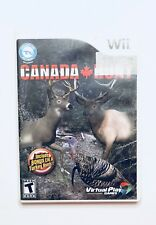 Canada Hunt - Nintendo  Wii Game - Complete - FREE SHIPPING
