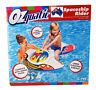 OZQUATIC LARGE Inflatable Spaceship Plane Ride On Swimming Pool Beach Toy AUS