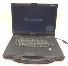 Panasonic ToughBook CF-52 Core 2 Duo T7300 2.00GHz 2GB CF-52BJH10BM Start Up