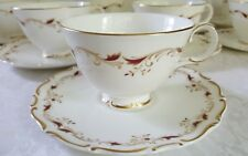 (9) Royal Doulton STRASBOURG CUP&SAUCER SETS  Made in England H4958 Excellent
