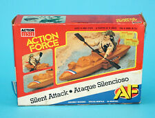 1985 GI JOE / ACTION FORCE SILENT ATTACK v2 & RECONDO v1 BOXED EURO BOX PALITOY