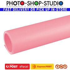 Fotolux PVC Pink 1m x 2m Photographic Background Sheet Backdrop #PVC1X2-PK *AU*