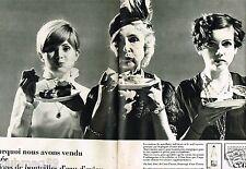 G- Publicité advertising 1968 (2 pages) Eau Minérale Evian