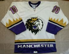 Manchester Monarchs Game Jersey, Pro Stock, Petr Kanko, signed size 48