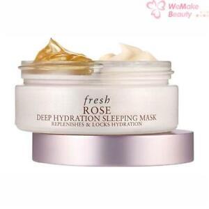 Fresh Rose Deep Hydration Sleeping Mask 2 x 1.18oz / 35ml New In Box