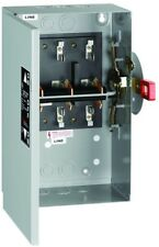 TC35322 GE 60 Amp Non-Fused Indoor General-Duty Double-Throw Safety Switch
