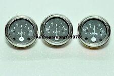 3 pcs Universal Ampere Gauge / Ammeter for Tractors, Trucks 30-0-30 Ammeter