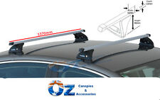 ISUZU DMAX Roof Rack Crossbars PAIR new 1370mm 2012- 2017