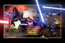 STAR WARS: THE CLONE WARS Movie POSTER 27x40 B Created by George Lucas