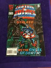 Captain America (#442, August 1995) Stalked by the Angel of Death Marvel comic