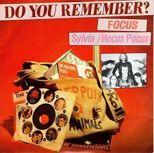 7inch FOCUS sylvia / hocus pocus DO YOU REMEMBER holland EX+  (S1650)