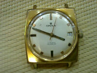 Vintage  GOLD PLATED SWISS MEN WATCH ONSA