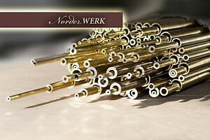 Messingrohr Messing rund dickwandig 500mm lang nahtlos Rohr Top Qualität