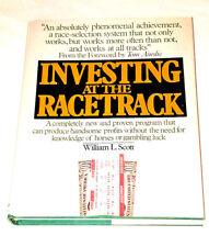 Investing at the Racetrack Scott, William L. Hardcover