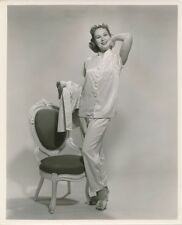 VIRGINIA MAYO Pajamas Vintage 1950s BERT SIX Warner Bros. FASHION Portrait Photo