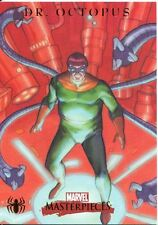Marvel Masterpieces 2007 Spiderman Chase Card S6 Dr. Octopus