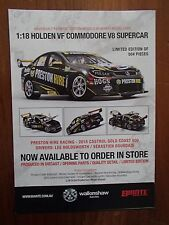 BROCHURE FOR BIANTE 1:18 HOLDEN VF COMMODORE 2015 CASTROL GOLD COAST 600 AS NEW