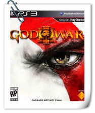 PS3 GOD OF WAR GOW 3 III ENG / 战神 中英文版 GOD SONY PLAYSTATION Games Action SCE