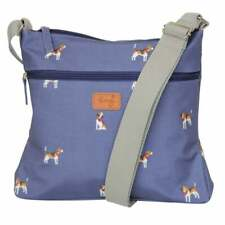 Blue Crossover Bag Satchel Beagle Dog Beagles Dogs Gift Gifts Bags Womens Peony