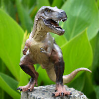 Movable Jaw Tyrannosaurus Rex Solid Plastic Dinosaur Figure Toy Model Best Gift