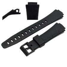 Correa de Reloj de Repuesto 15mm montaje 22mm Hombros Para Casio W90, W91, 311A2